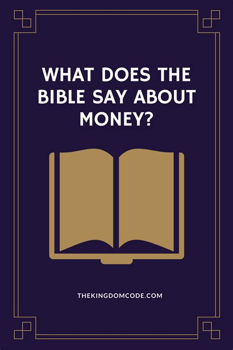 what does the bible say about buying a house what does the bible say about money the kingdom code