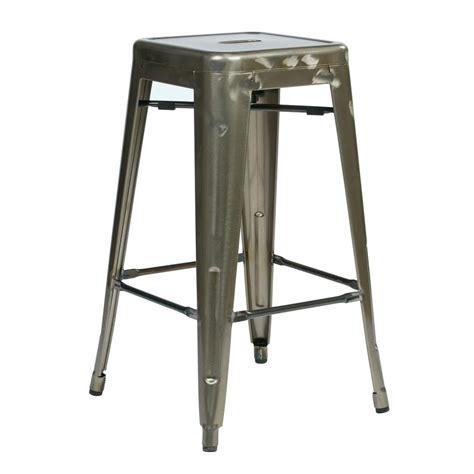 office star bristow metal backless stool black bar stool linon home decor adjustable swivel metal bar stools in