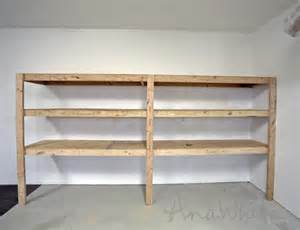 diy garage shelves plans white easy and fast diy garage or basement shelving