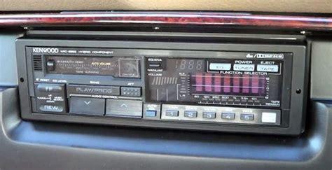 retro   gloriously complicated car cassette deck