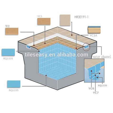 Colbat Blue Tile For Swimming Pool Handgrip Tiles   Buy