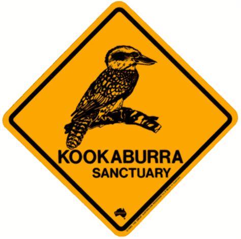 Unique Home Decorations by Australian Road Signs Kookaburra