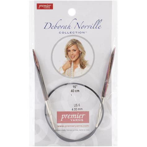 deborah norville interchangeable needles size 6 4mm deborah norville fixed circular knitting needles 16 quot size