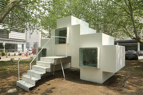 micro house studio liu lubin archdaily