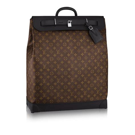 Bag Travel Lv W8020 steamer bag monogram macassar canvas travel louis vuitton