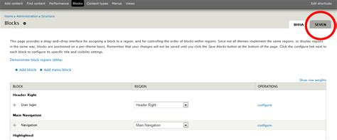 drupal theme not showing up in appearance custom region does not show up in a drupal sub theme