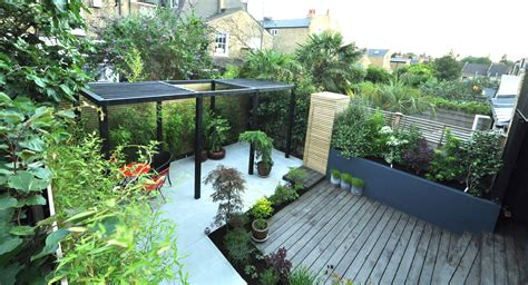 House Design Modern Small by Garden Designers And Landscapers In London Bamboo