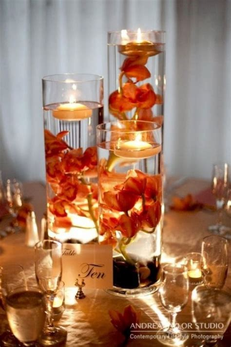 Martini Table With Bird by Fall Wedding Decorations Romantic Decoration