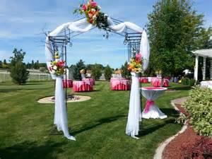 Wedding Arch Entrance Wedding Backdrops Backgrounds Decorations Columns