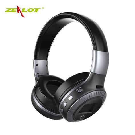 Zealot B19 Wireless Headset Bluetooth Headphone With Tf Fm Radio Quality Original Zealot B19 Stereo Wireless Headset Bluetooth Headphone Headband Headset