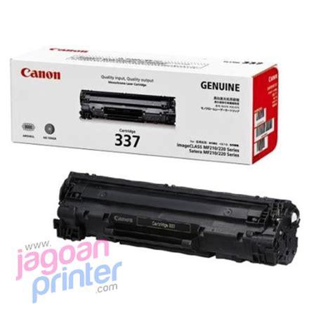 Tinta Printer Laser Canon Jual Toner Canon 337 Black Murah Garansi Jagoanprinter