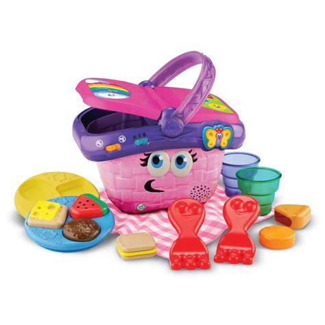 amazon toys amazon com leapfrog shapes and sharing picnic basket