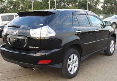 toyota harrier 2008 toyota harrier 2008 specs