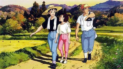ghibli film only yesterday 30 years of ghibli only yesterday entropy