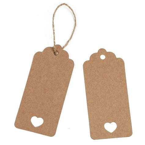 craft paper tags save 63 kinglake 174 100 pcs kraft paper gift tags with