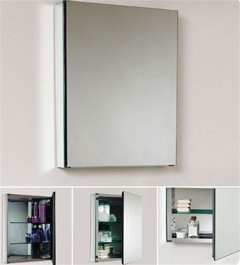recessed bathroom mirror cabinet fresca fmc8058 bathroom 20 quot wide medicine cabinet with