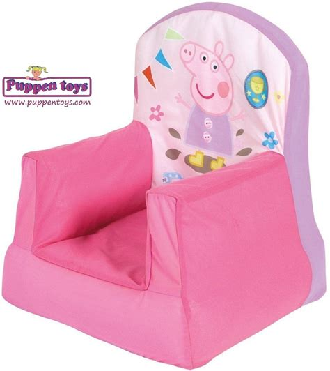 peppa pig table and chairs with umbrella peppa pig armchair worldsapart juguetes