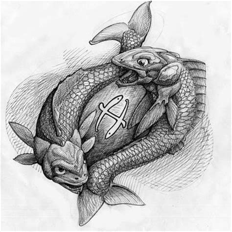 pisces zodiac tattoo by mattayama on deviantart