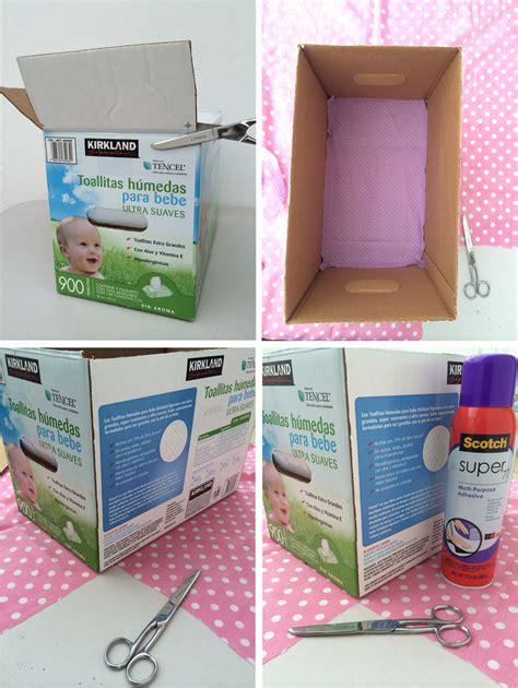 decoracion de cajas de carton para guardar ropa perly judith diy cajas organizadoras