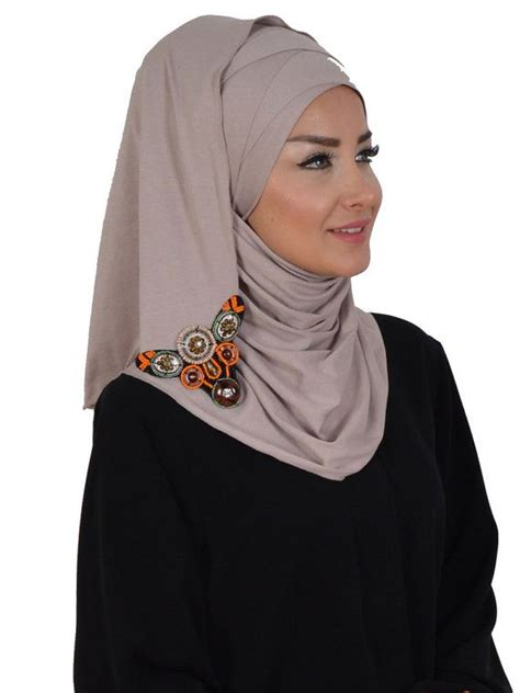 Hjab Instant Alika 1 11 best semi instant images on instant tudung shawl and chiffon