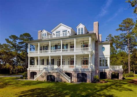 Charleston Architecture Design Traditional Lowcountry Home Designed By Christopher Architects In Charleston Sc