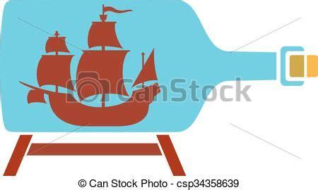 dessin bateau bouteille bateau bouteille