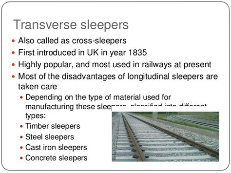 Why Are Sleepers Called Sleepers by Railway Failure And Its Type