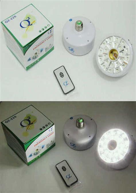 Lu Emergency Pakai Remote lu hemat energi gambar rumah idaman