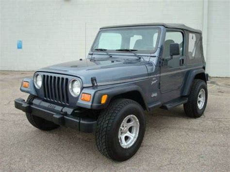 2001 Jeep Wrangler For Sale 2001 Jeep Wrangler For Sale Carsforsale