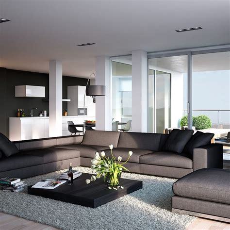 modern kitchen living room design interiordecodir com 25 best open floor plan modern kitchen design ideas