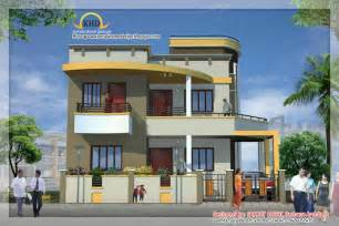 duplex house plan with elevation amazing design projects