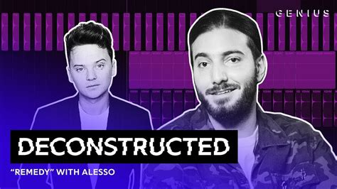 alesso remedy singer the making of alesso s quot remedy quot deconstructed mixtape tv