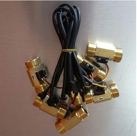 Water Heater Purwokerto water flow sensor 3 4 inch kuningan 1 60l min flowmeter flow sensor water pom