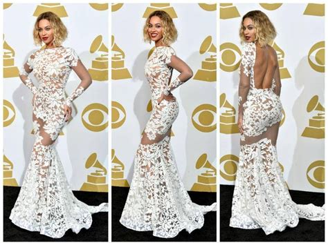 Which Grammy Look Was Most Fab by Grammy Style 2014 Beyonce Looks Fabulous In This White