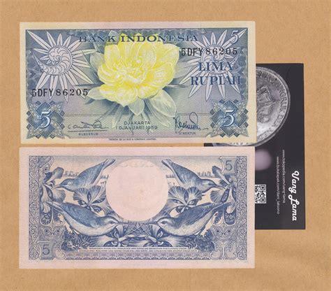 Uang Lama 5 Rupiah 1959 jual uang kuno 5 rupiah 1959 uang lama