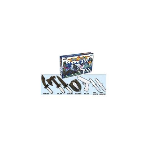 Nintendo Wii Optik Combat Pack kit combat pack wii 8 en 1 paraaccesorios y