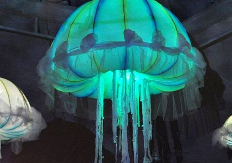 changing color jellyfish decor de neon neon