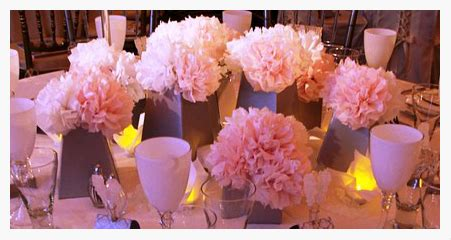 How To Make Tissue Paper Flower Centerpieces - diy tissue paper flowers every last detail