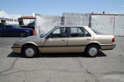old car owners manuals 1995 honda accord lane departure warning classic 1989 honda accord lx manual 4 cylinder no reserve for sale detailed description and photos