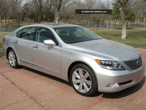 2008 Lexus Ls600h L Sedan 4 Door 5 0l