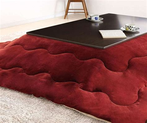 heated blanket for tables kotatsu heated table dudeiwantthat com