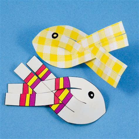 3d fish template how to make 3d paper fish 3d paper crafts s