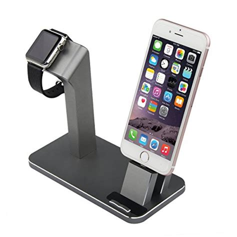 apple iwatch stand iphone dock aluminum charging charger stand dock station for apple