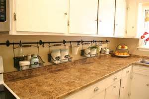 kitchen countertop storage solutions the newly uncluttered kitchen counter
