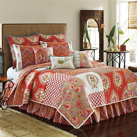 dena bedding dena home kalani quilt bed bath beyond