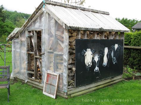 before after a shed goes from farmhouse to modern the little rustic garden shed that could an inspiring