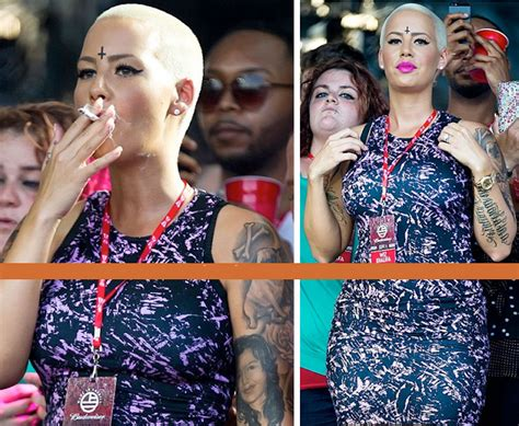 amber rose forehead tattoo illuminati wiz khalifa s with inverted