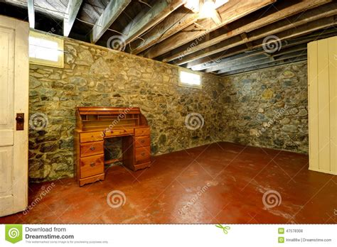 Walk Out Basement Plans basement room with stone trim walls stock photo image