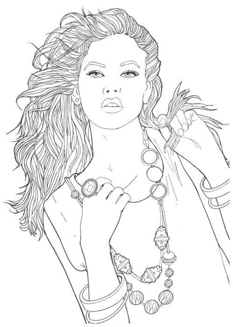 girl model coloring page creatrice de mode mode coloring book pour adulte arthur