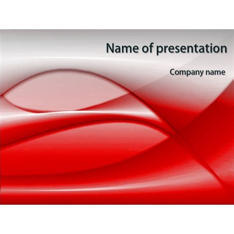 red design powerpoint template background for